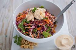 Salade thai au poulet