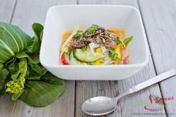 Soupe thaï au boeuf
