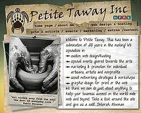 Petite Taway Web Design