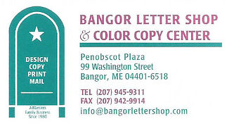 Bangor Letter Shop