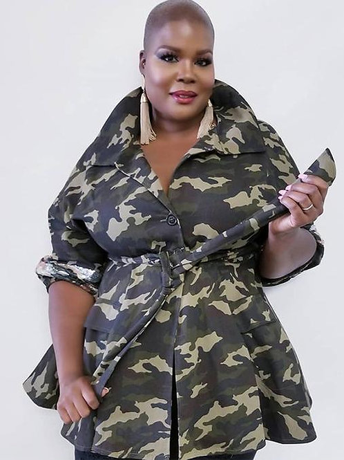 Camouflage Top / Dress