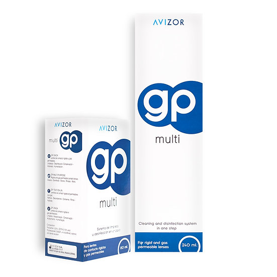 GP Multi Contact Lens Solution plus free 60ml travel pack