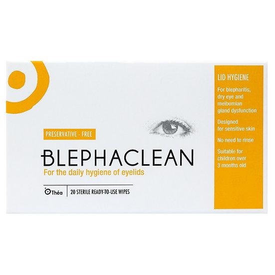 20 BLEPHACLEAN Sterile Eyelid Wipes For BLEPHARITIS