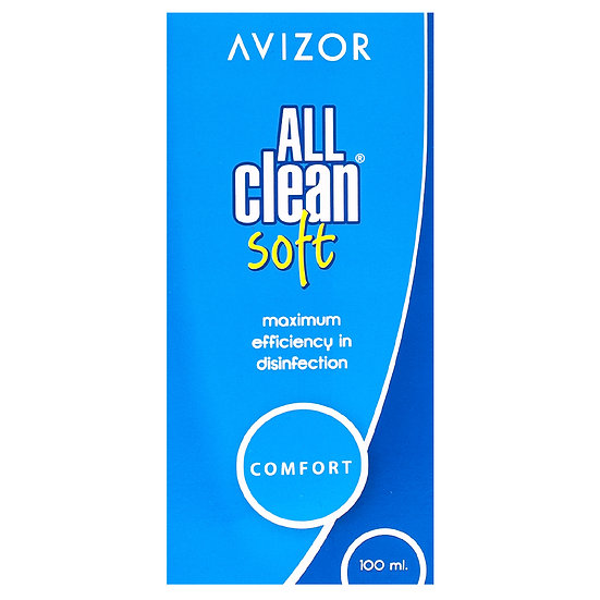 ALL CLEAN Soft contact lens fluid, 100ml