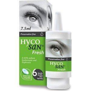 Hycosan Fresh lubricating eye drops