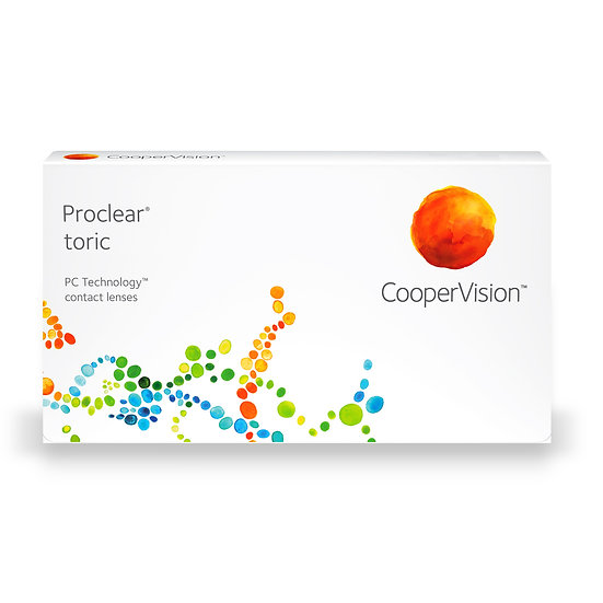 Proclear toric 1 box of 3 lenses for 1eye