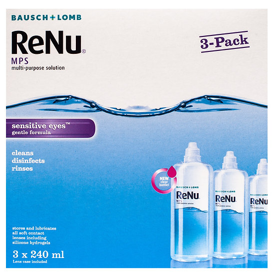 ReNu MPS for Sensitive Eyes Solution 3x240ml
