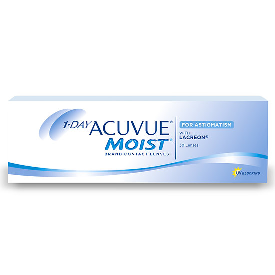 1 Day Acuvue MOIST for Astigmatism Box of 30