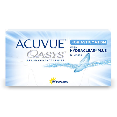 OASYS for Astigmatism 1 box of 6 lenses