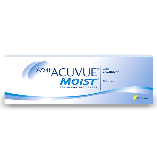 1 Day Acuvue MOIST Box of 30
