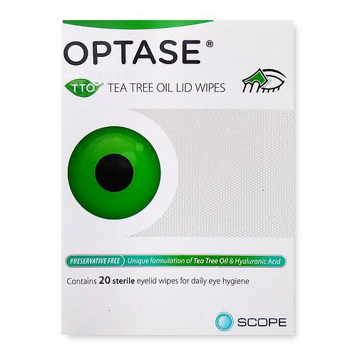 Optase Tea Tree Oil Lid Wipes Preservative Free