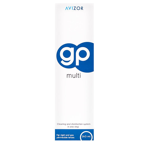 GP Multi Contact Lens Solution for Rigid and Gas- Permeable Contact Lenses240ml