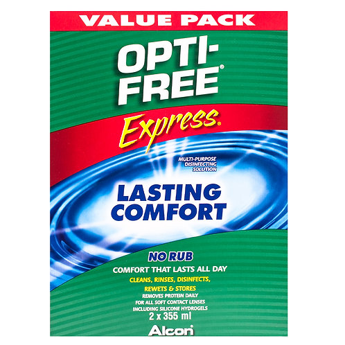 Alcon Opti-Free Express Value Pack 2 x 355ml