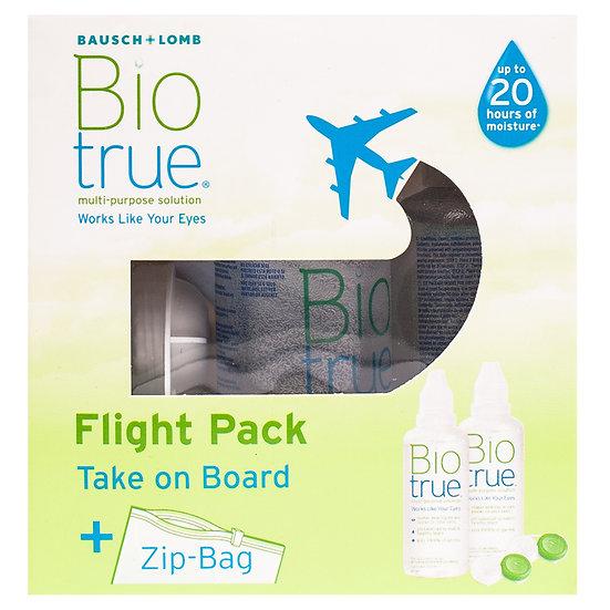 Biotrue Multi-Purpose Solution Flight Pack 2 x 60ml