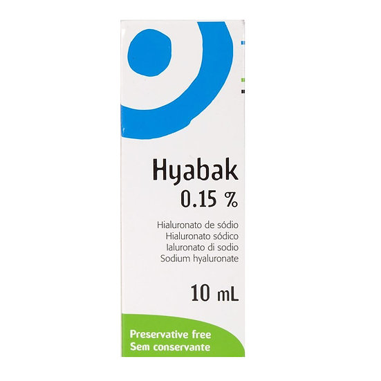 Hyabak Eye Drops, 10 ml