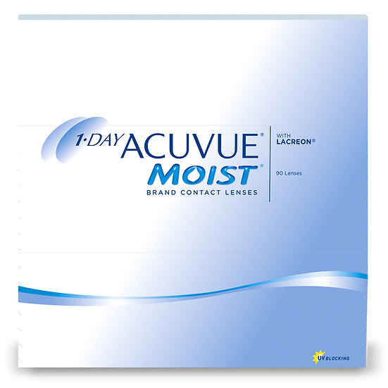 1 Day Acuvue MOIST Box of 90