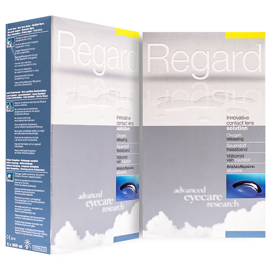 Regard Contact Lens Solution (6 months supply) Plus free 60ml pack