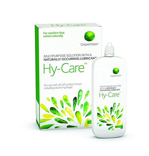 Hy-Care multipurpose contact lens solution 3 x 250ml. Plus free 60ml pack