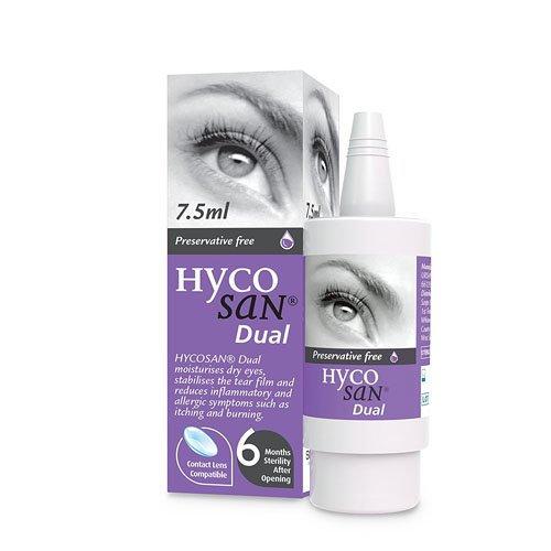 Hycosan Dual 0.1 Percent Fresh Eye Care, 7.5 ml