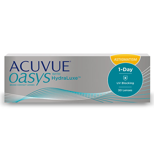 ACUVUE OASYS 1 Day for Astigmatism 1 box of 30 lenses