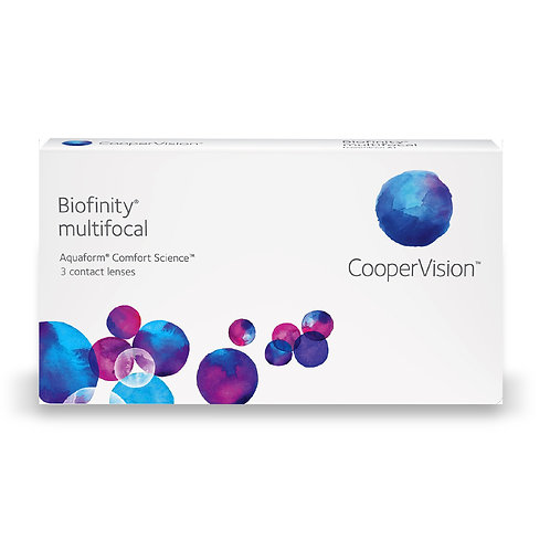 Biofinity Multifocal 1 box of 3 lenses for one eye
