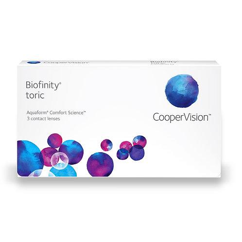 Biofinity Toric 1 box of 3 for 1 eye