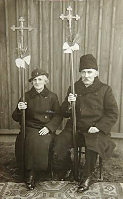 Rodzice J. Hodboda, 50-lecie ślubu