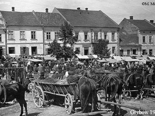 Jarmark na rynku, 1923