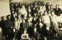 1944 - Szkoła Gospodarcza w Grybowie
