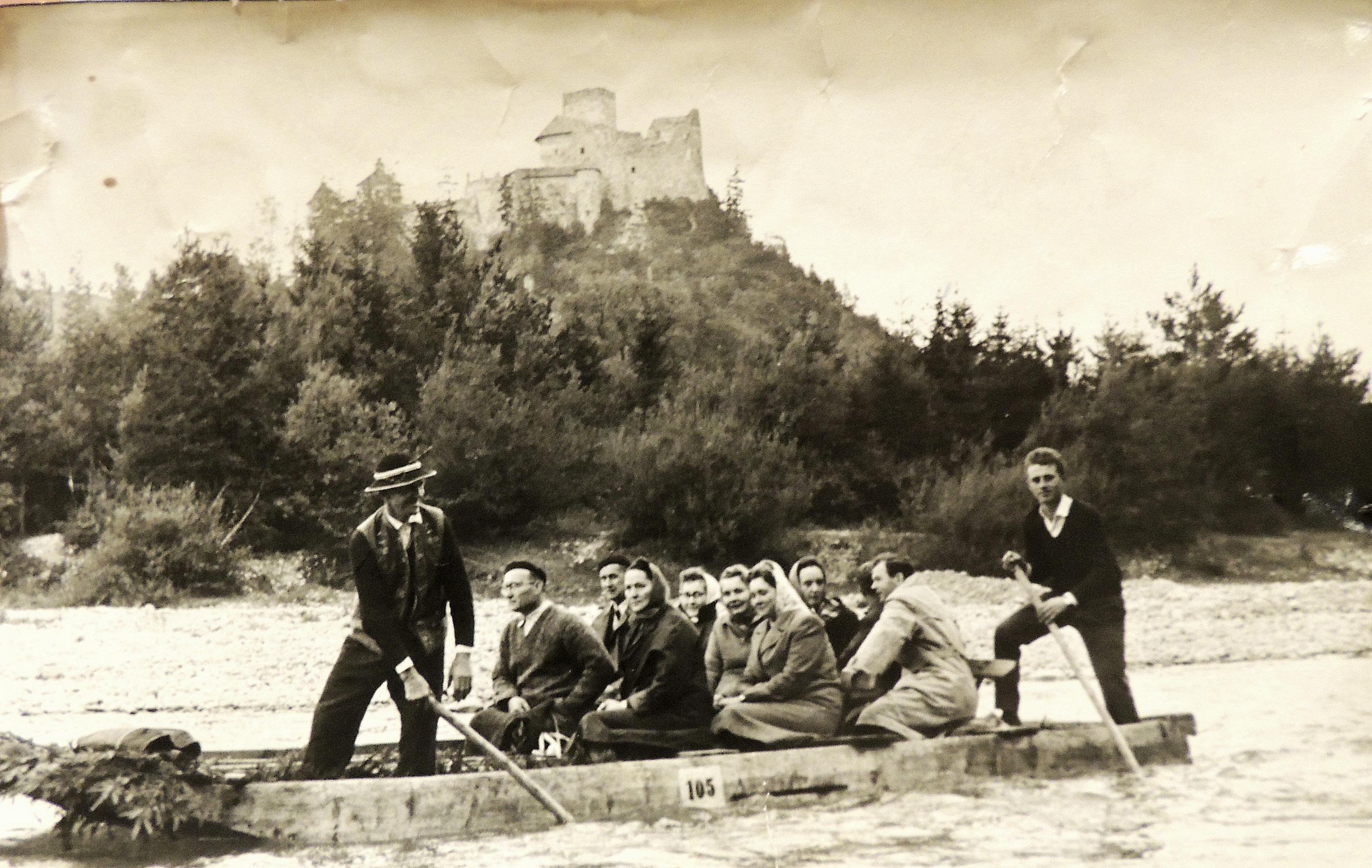 pracownicy browaru w Grybowie