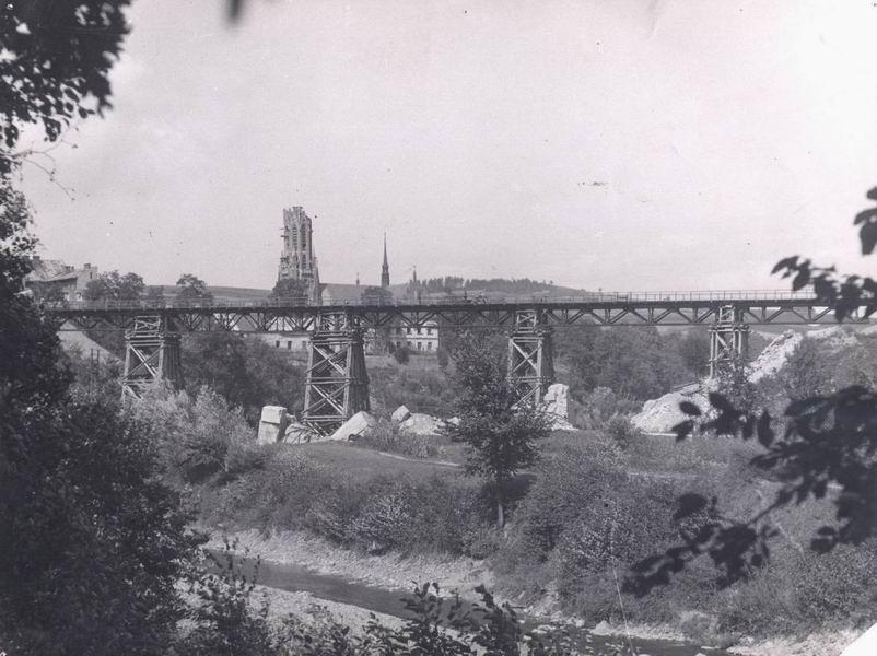 Tymczasowy most kolejowy