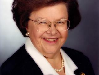 Senator Stanów Zjednoczonych Barbara Ann Mikulski