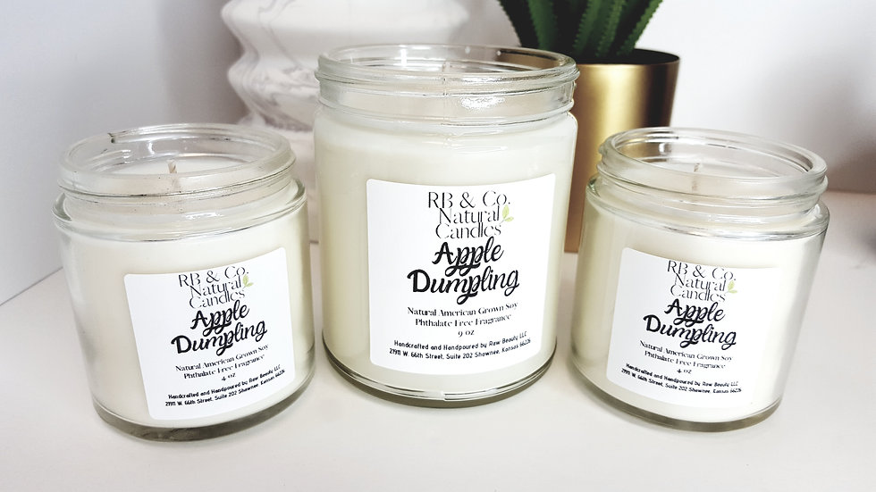 Apple Dumpling | Natural Soy Candle | Hand-Poured and Hand-Crafted