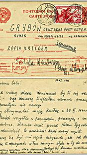 Pocztówka z czasu Zagłady