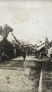 Ul. św. Katarzyny, 1945