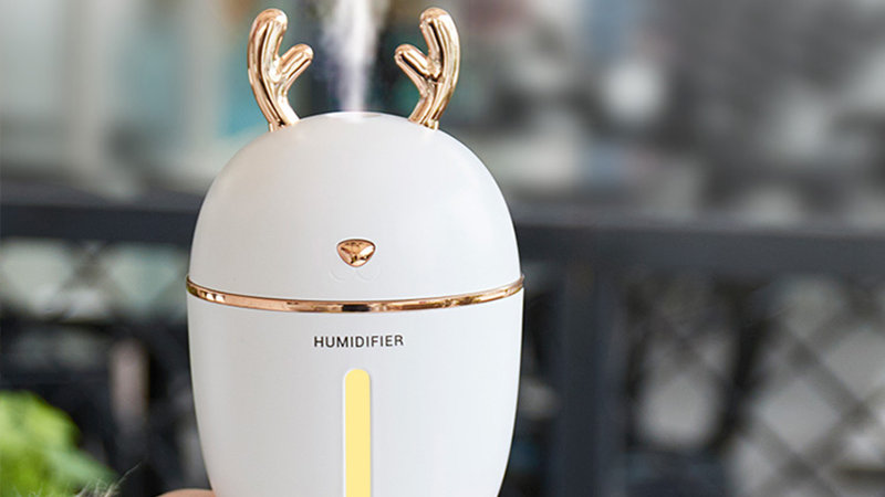Air Humidifier Aroma Essential Oil Diffuser for Home Office With  night Light