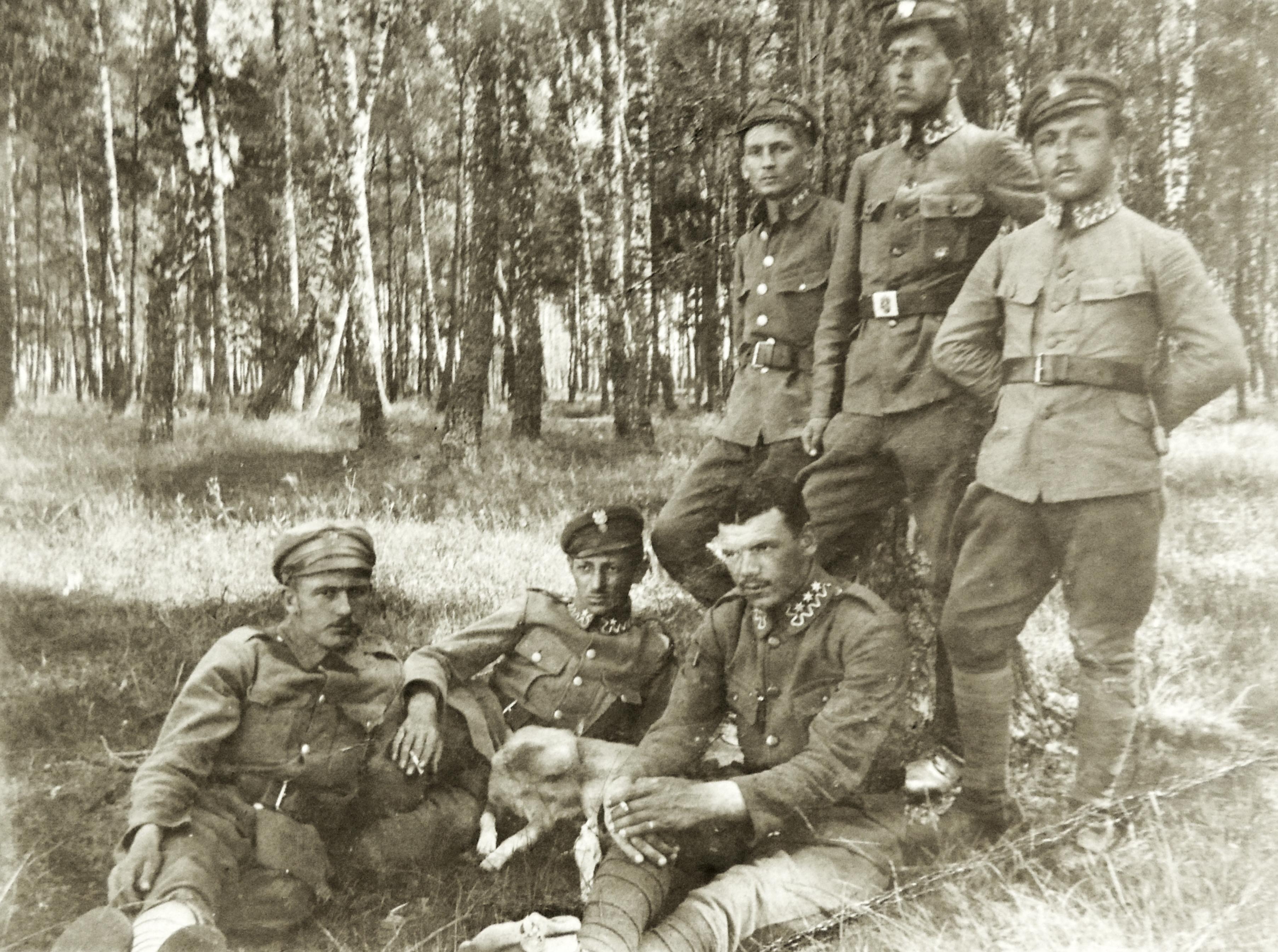 Po prawej Tadeusz Kumorkiewicz