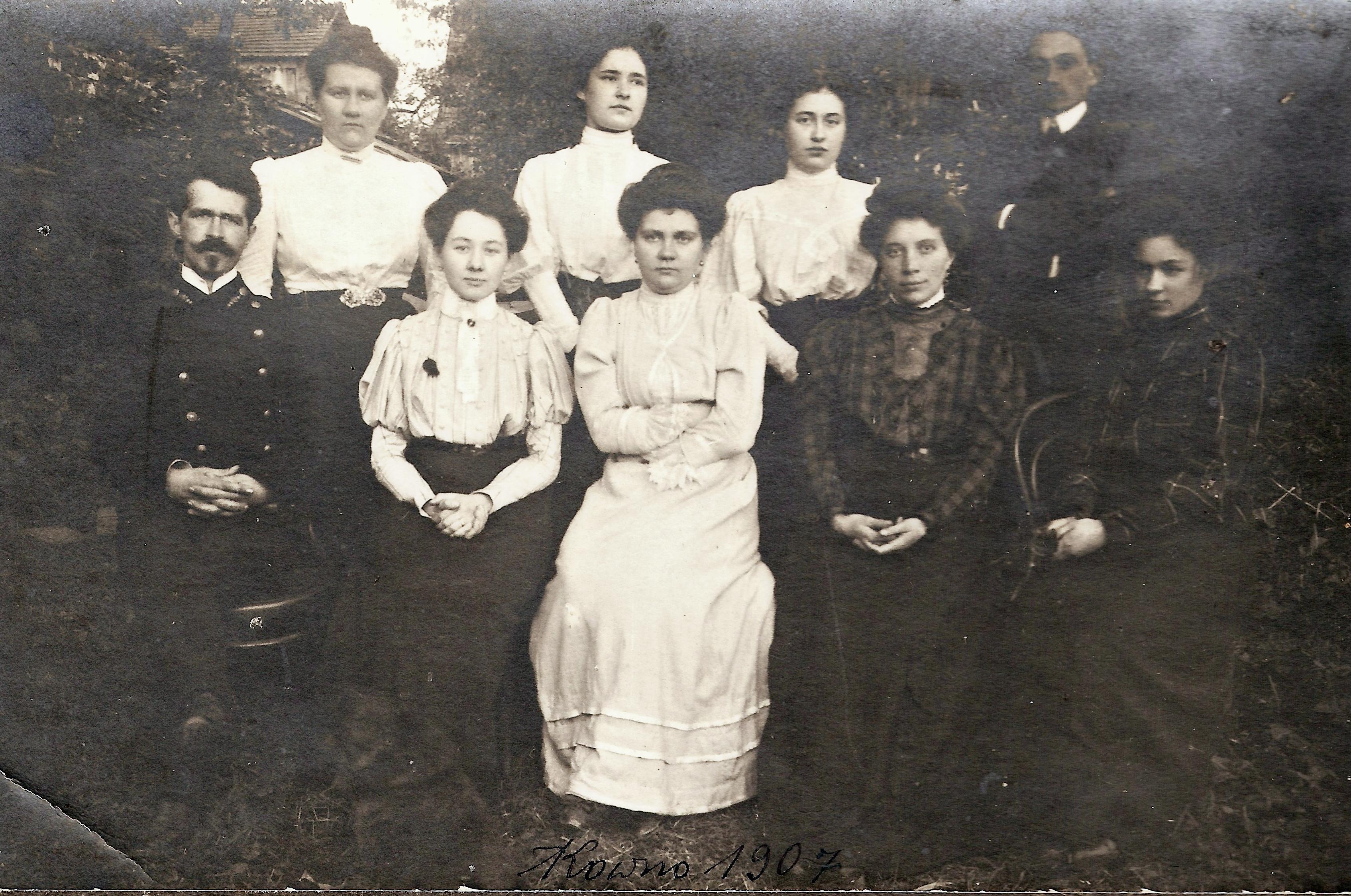 Rodzina Eustachego, Kowno 1907