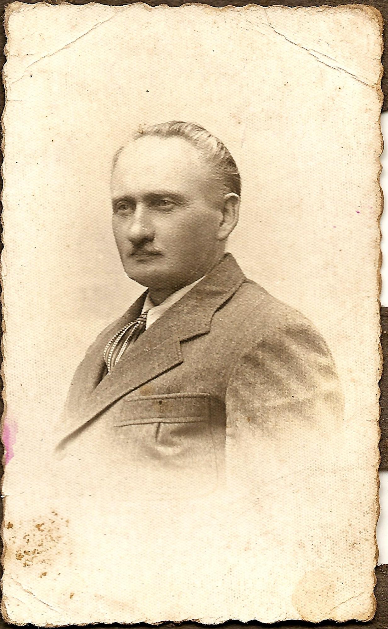 Eustachy Skinder, 1940 r.