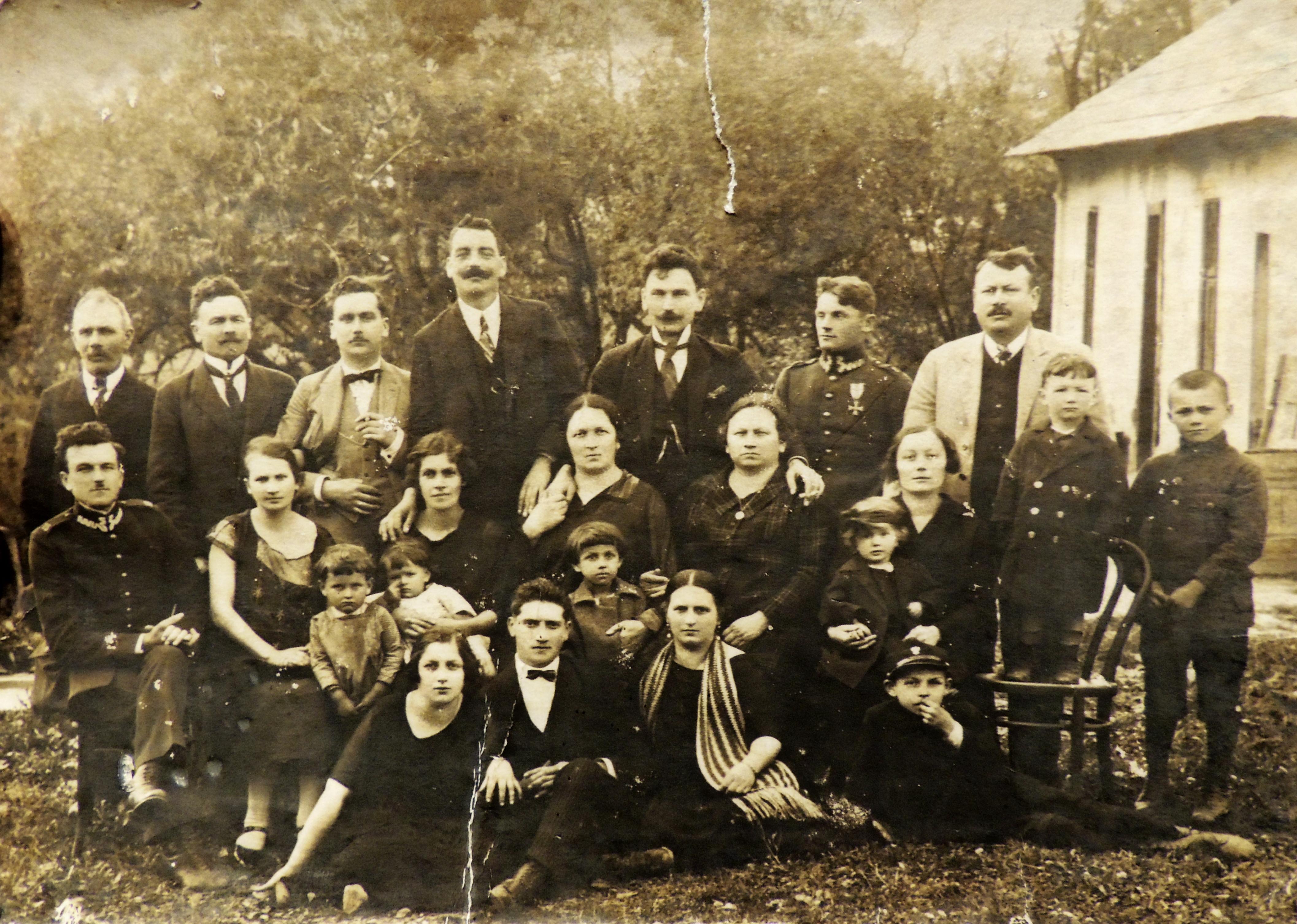 Rodzina Kmaków z Węgierskiej