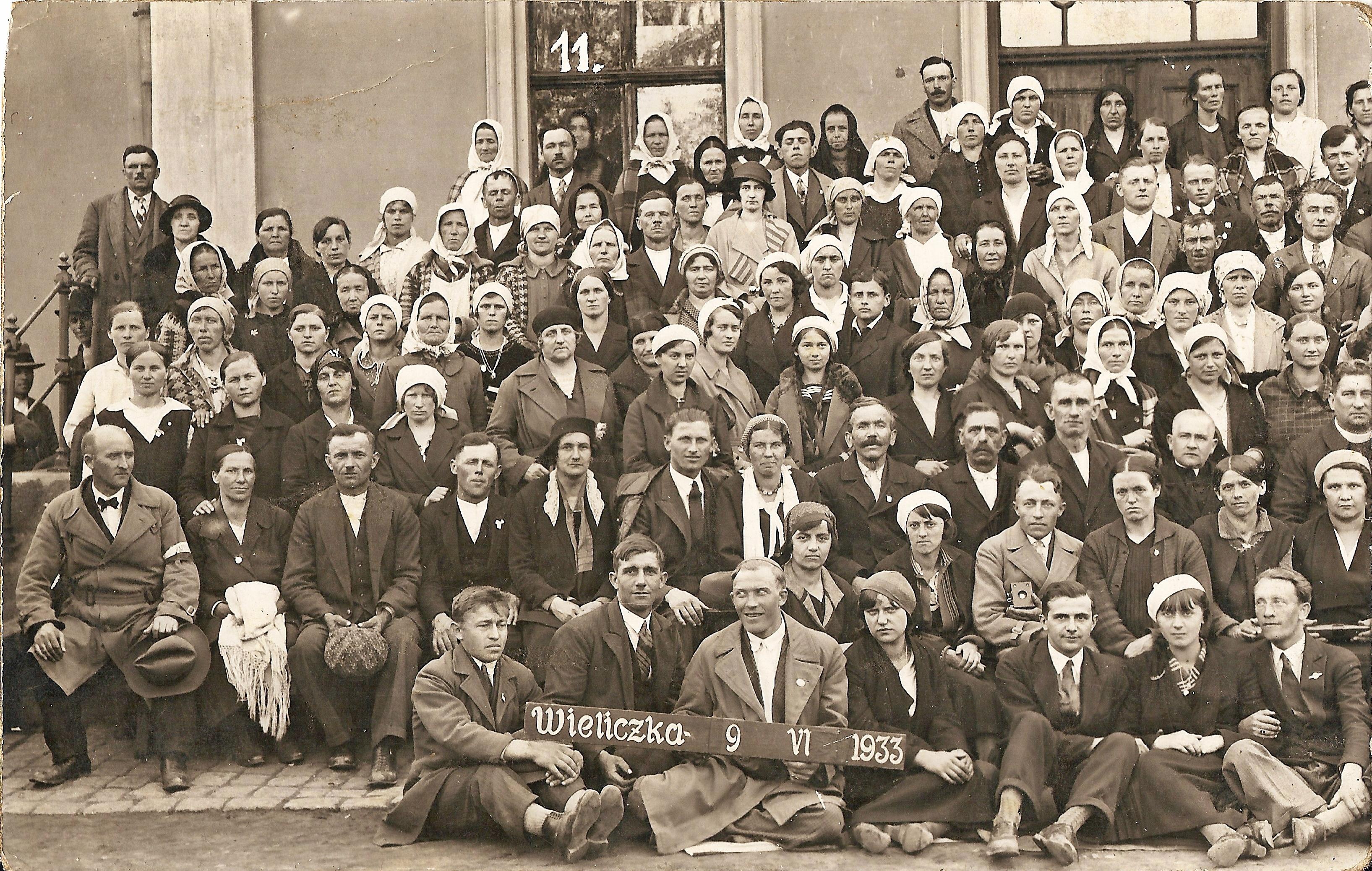Grybowianie w Wieliczce