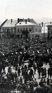 Podhalański Kongres Eucharystyczny w Grybowie - 1935