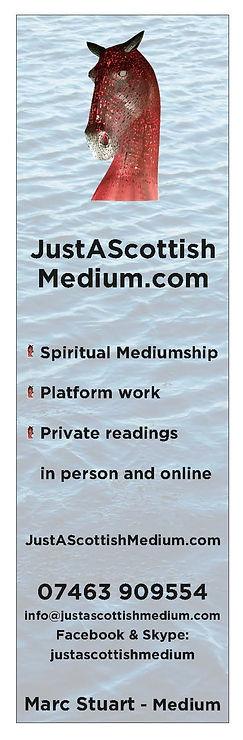 Just A Scottish Medium Final Vertical Lo