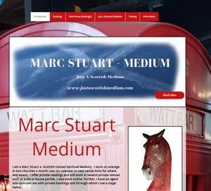 www.justascottishmedium.com New Website design
