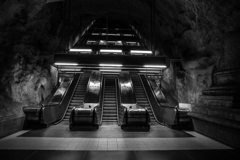 Stockholm et son Métro ...