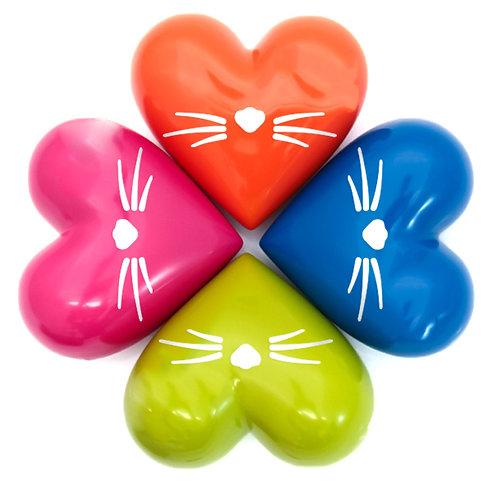 Urna Corazón Gato