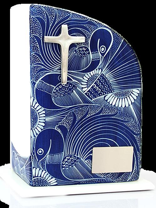 Urna Mausoleo Tradición Azul