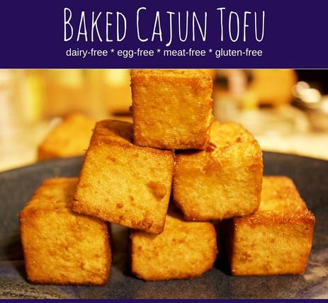 Baked Cajun Tofu