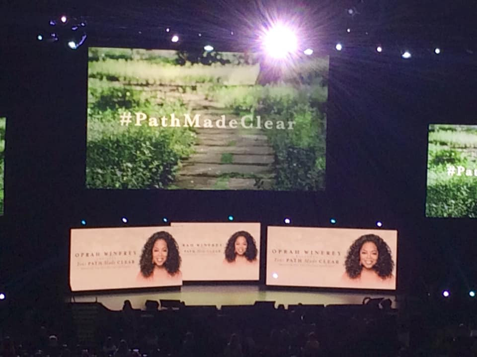 "Oprah's ""The Path Made Clear"" Book Tour in Montreal on January 16, 2019"