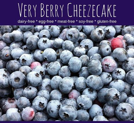 Very Berry Cheezecake (Dairy-, Egg-, & Gluten-Free)